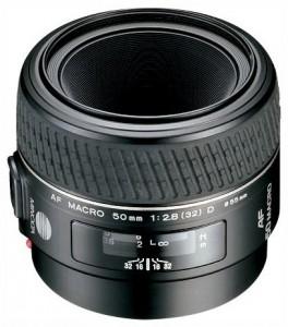 Minolta AF 50mm F/2.8 Macro D