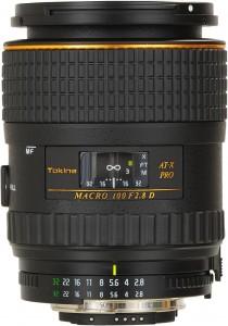 Tokina AT-X Pro Macro M100 AF 100mm F/2.8 D