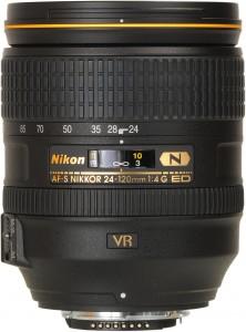 Nikon AF-S Nikkor 24-120mm F/4G IF-ED VR