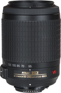 Nikon AF-S DX Zoom-Nikkor 55-200mm F/4-5.6G IF-ED VR