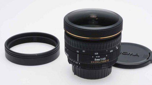 Sigma 8mm F/4 EX DG Circular Fisheye