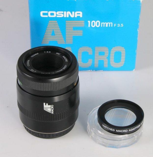 Cosina AF 100mm F/3.5 MC Macro (Phoenix, Promaster, Samyang, Soligor, Tokina EMZ, Vitacon, Vivitar, Voigtlander Macro-Dynar)