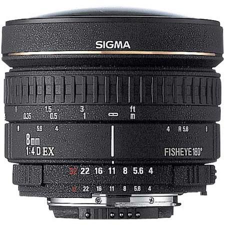 Sigma 8mm F/4 EX Circular Fisheye