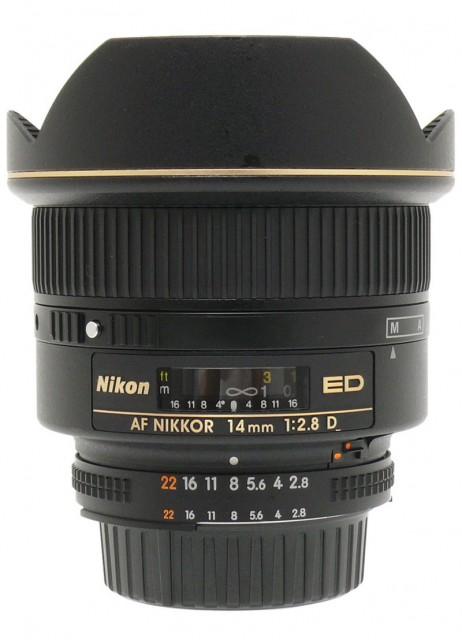 Nikon AF Nikkor 14mm F/2.8D ED
