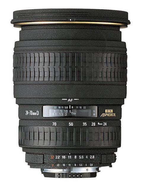 Sigma 24-70mm F/2.8 EX DG Aspherical DF