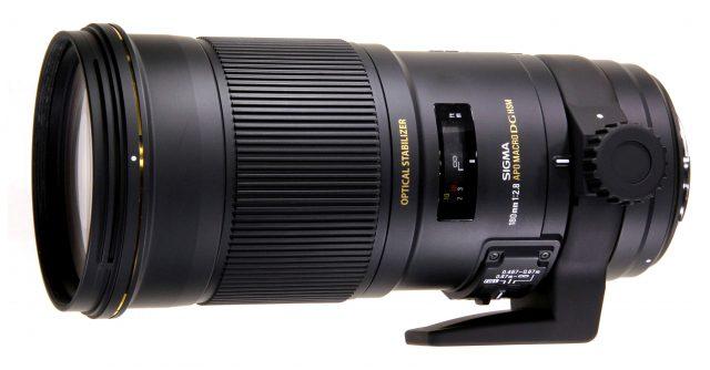 Sigma 180mm F/2.8 APO EX DG OS HSM Macro