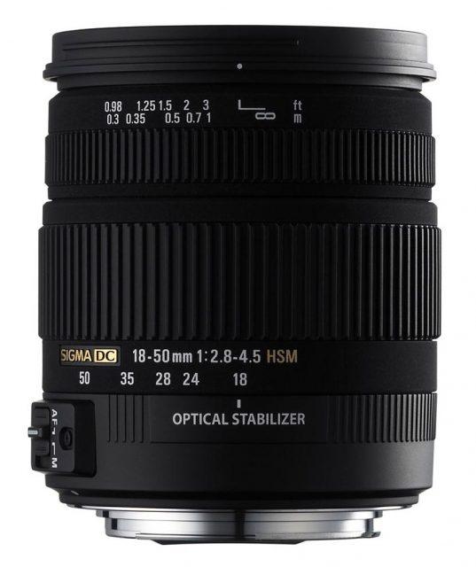 Sigma 18-50mm F/2.8-4.5 DC OS HSM