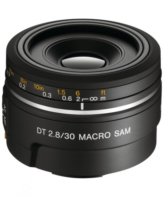Sony DT 30mm F/2.8 Macro SAM (SAL30M28)