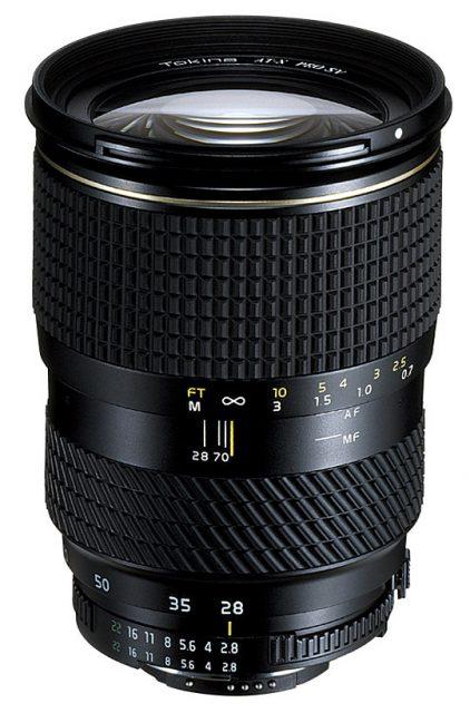 Tokina AT-X Pro 287 AF 28-70mm F/2.8 (IF) SV