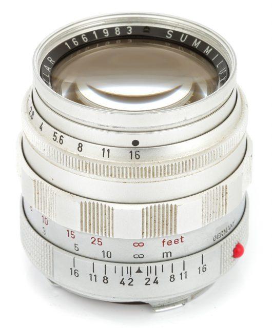 Leitz Wetzlar Summilux 50mm F/1.4 (I)