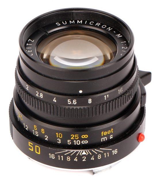Leitz Summicron-M 50mm F/2 (IV)