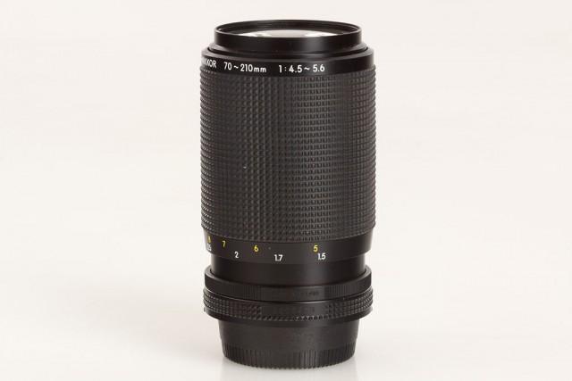 Nikon AI-S Zoom-Nikkor 70-210mm F/4.5-5.6