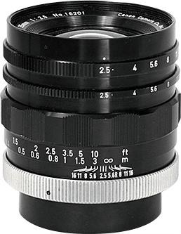 Canon Super-Canonmatic R 35mm F/2.5