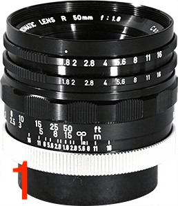 Canon Super-Canonmatic R 50mm F/1.8 (I)