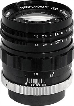 Canon Super-Canonmatic R 85mm F/1.8