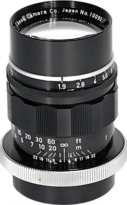 Canon R 85mm F/1.9