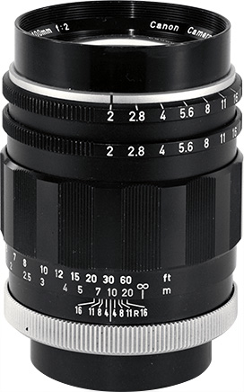 Canon Super-Canonmatic R 100mm F/2