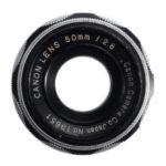 Canon 50mm F/2.8 I
