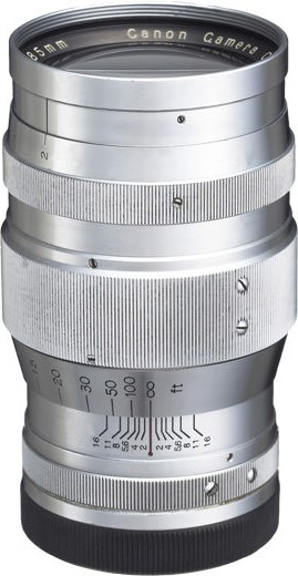 Canon Serenar 85mm F/2 II