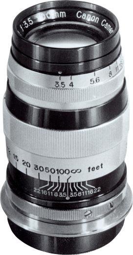 Canon 100mm F/3.5 I