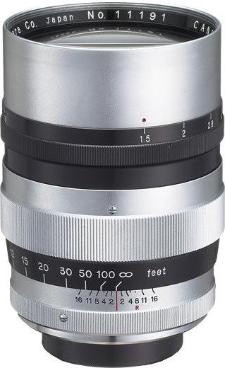 Canon 85mm F/1.5 II