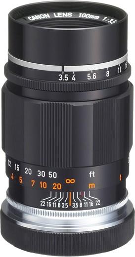 Canon 100mm F/3.5 III