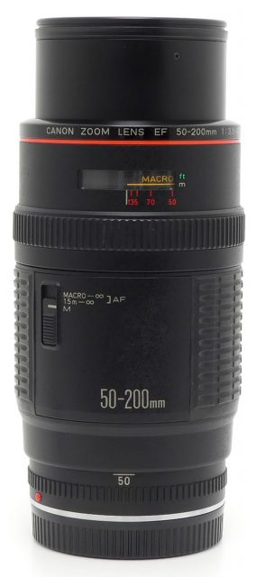 Canon EF 50-200mm F/3.5-4.5L