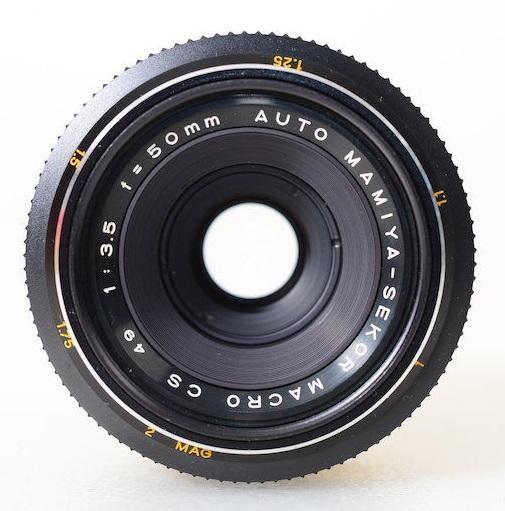 Auto Mamiya-Sekor Macro CS 50mm F/3.5