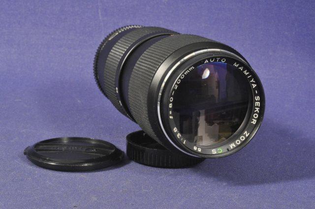 Auto Mamiya-Sekor Zoom CS 80-200mm F/3.8