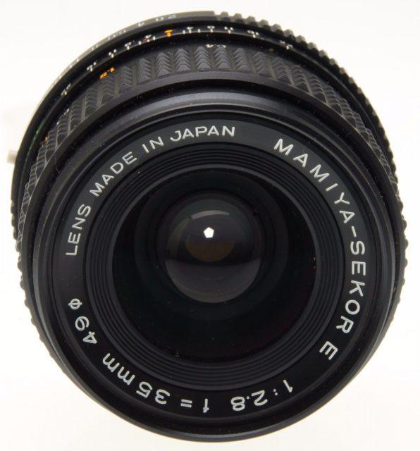 Mamiya-Sekor E 35mm F/2.8