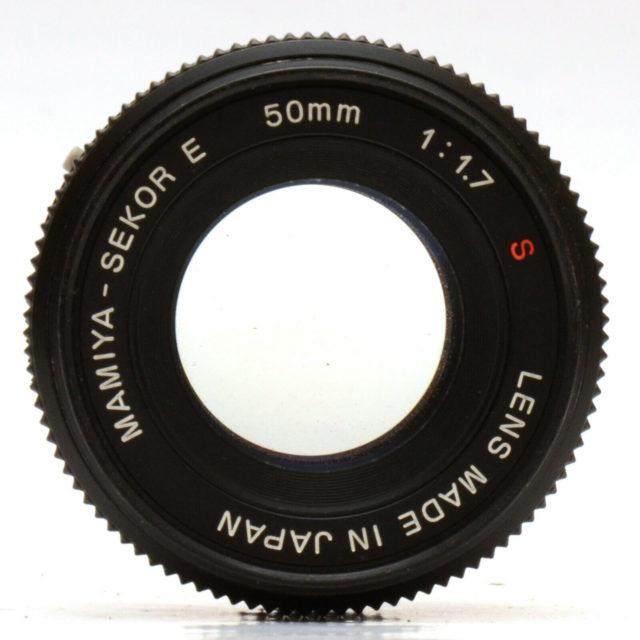 Mamiya-Sekor E 50mm F/1.7 S
