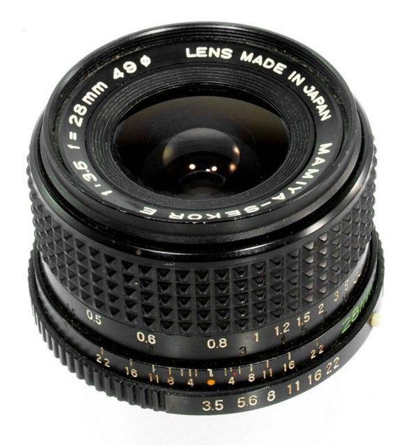 Mamiya-Sekor E 28mm F/3.5