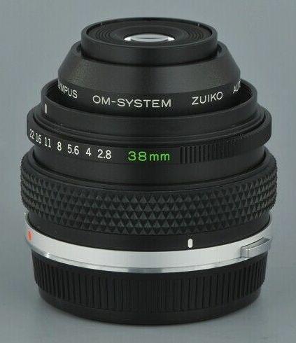 Olympus OM Zuiko Auto-Macro 38mm F/2.8