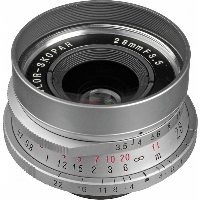 Cosina Voigtlander Color-Skopar 28mm F/3.5 LTM