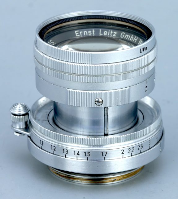 Leitz Wetzlar Summicron 50mm F/2