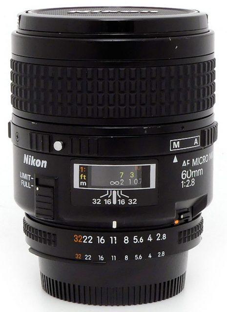 Nikon AF Micro-Nikkor 60mm F/2.8
