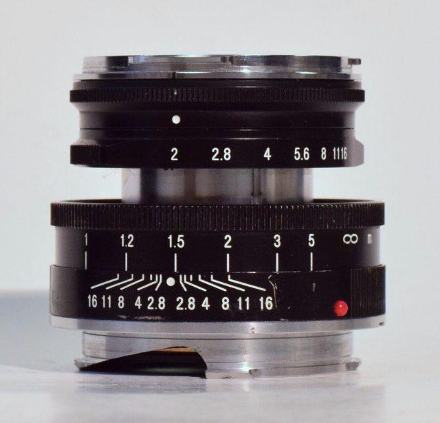 Cosina Voigtlander Heliar 50mm F/2 VM (Voigtlander 250th Anniversary)