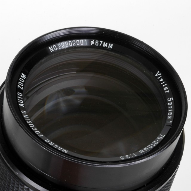Vivitar Series 1 70-210mm F/3.5 Macro
