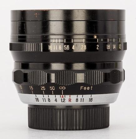 Fuji Fujinon 50mm F/1.2