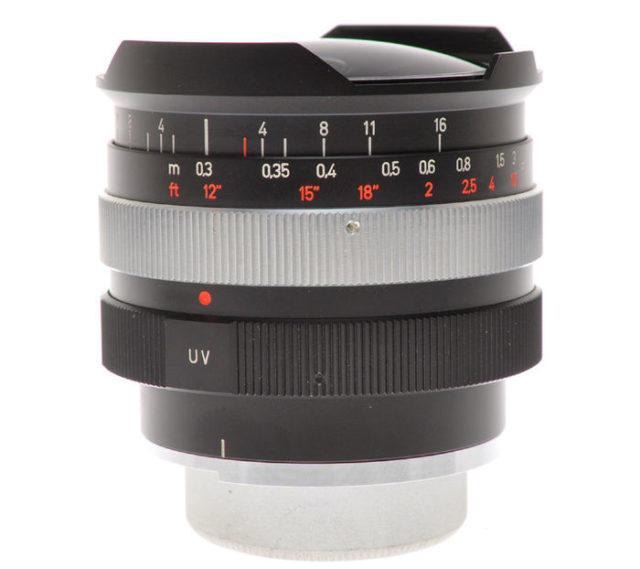Carl Zeiss Contarex F-Distagon 16mm F/2.8
