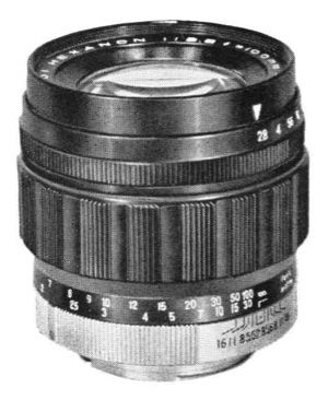 Konishiroku Hexanon 100mm F/2.8