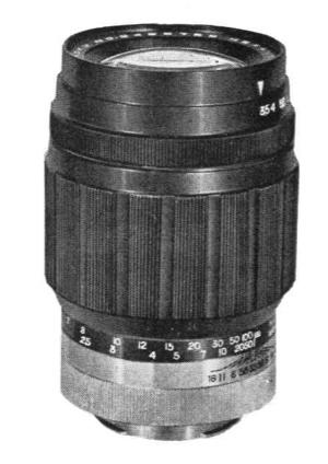 Konishiroku Hexanon 135mm F/3.5