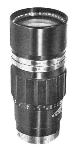 Konishiroku Hexanon 200mm F/3.5