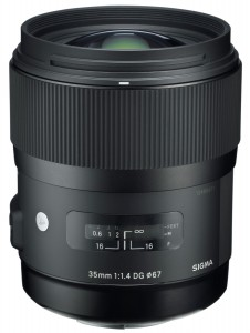 Sigma 35mm F/1.4 DG HSM | A