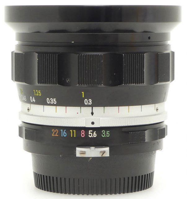 Nikon Nikkor-UD Auto 20mm F/3.5