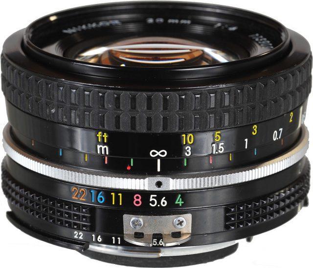 Nikon Nikkor 20mm F/4