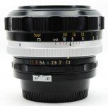 Nikon Nikkor-S(·C) Auto 55mm F/1.2
