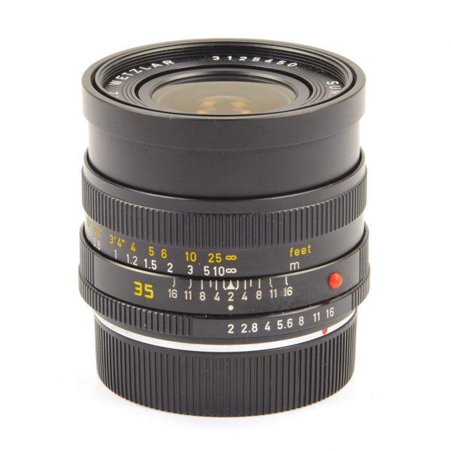 Leica (Leitz Wetzlar) Summicron-R 35mm F/2