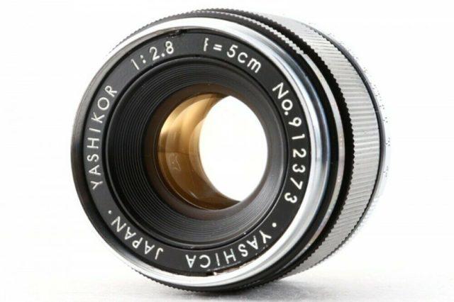 Yashica Yashikor 50mm F/2.8 (II)