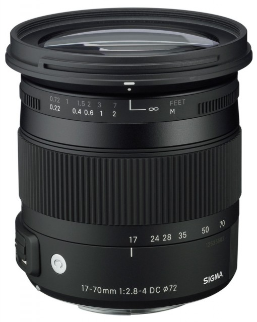 Sigma 17-70mm F/2.8-4 DC Macro OS HSM | C